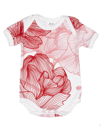 Two-Tykes-In-Full-Bloom-Short-Sleeve-Babysuit-Flatlay-Girls-Oh-My-Golly-Gosh