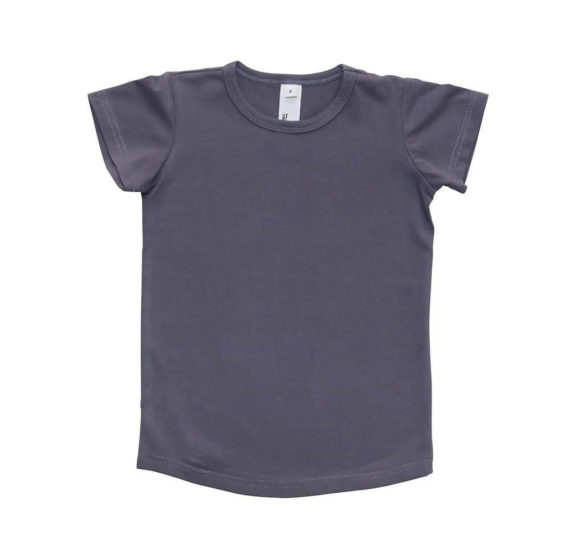 He-and-Her-Plain-Short-Sleeve-Tee-Shirt-Front-Unisex-Charcoal-Oh-My-Golly-Gosh