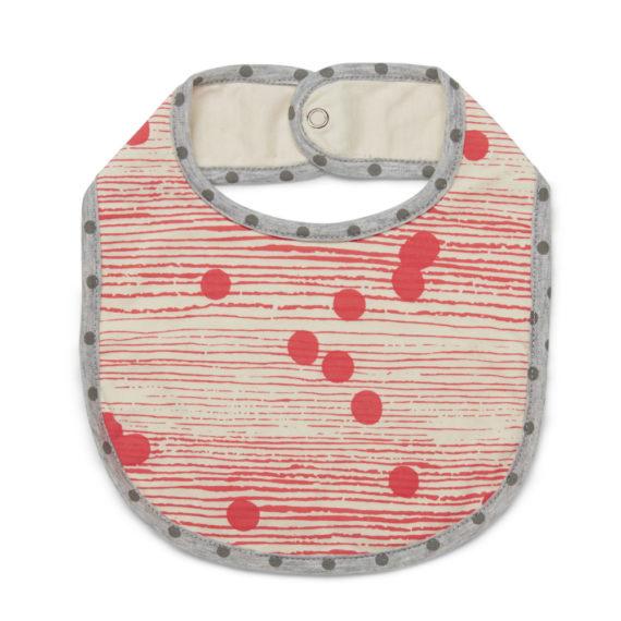 Tinker-by-Printink-Studio-Coral-Girls-Dot-Stripe-Bib-Oh-My-Golly-Gosh