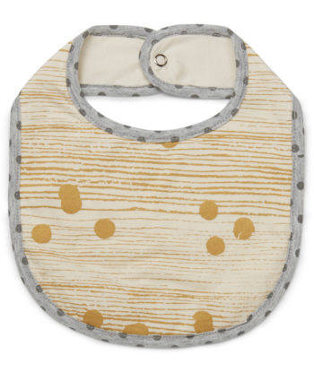 Tinker-by-Printink-Studio-Gold-Dot-Unisex-Stripe-Bib-Oh-My-Golly-Gosh