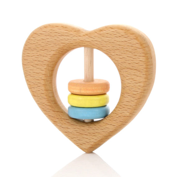 Milton-Ashby-Heart-Rattle-Unisex-Pastel-Beads-Angle-Oh-My-Golly-Gosh