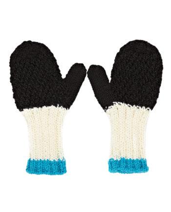 Acorn-Mittens-AW16-Black-Cream-Turquoise-Boys-Oh-My-Golly-Gosh