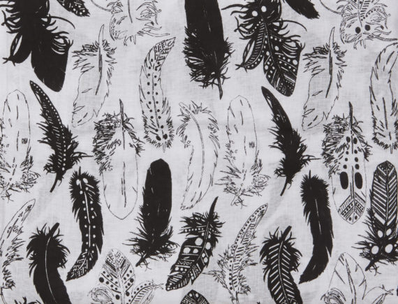 Tinker-by-Printink-Studio-Black-Feather-Baby-Wrap-Oh-My-Golly-Gosh