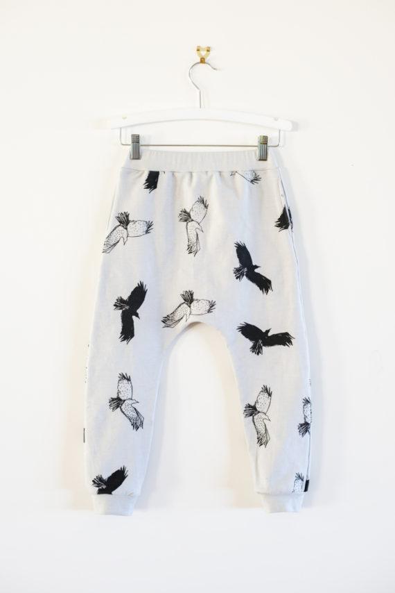 Bandit-Kids-Spooky-Birds-Drop-Crotch-Pants-Oh-My-Golly-Gosh